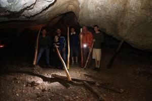 Workshop Abschluss in der Höhle